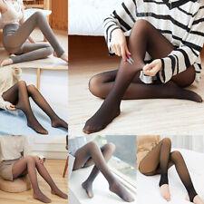 Women Sexy Flawless Legs Fake Translucent Warm Fleece Pantyhose