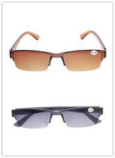 Half Rim Sunglasses Reading Glasses Gradient Sun Readers Classic +1.00~+4.00