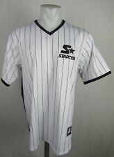 Pullover STARTER Black Label Jersey #71 White/Black Men's Large *Flawed