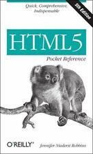 HTML5 Pocket Reference (Paperback or Softback)