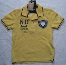 SEVEN ONE SEVEN Kinder Jungen Polo-Shirt LUKA / Gelb / NEU