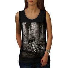Foto Antigua Funky Vintage para Mujeres Camiseta sin mangas Nuevo | wellcoda