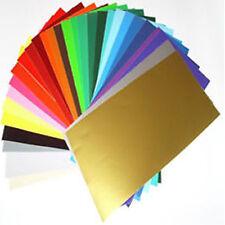 100 x A4 Sheets Matt Self Adhesive Vinyl Any Colour Sign Making Vinyl Craft Robo