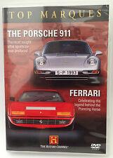 New Porsche 911 + Ferrari Top Marques DVD