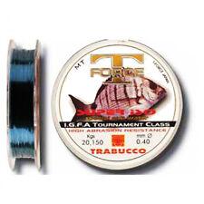 FILO TRABUCCO SUPER ISO 500 M PESCA MARE RESISTENTE BLU MONOFILO