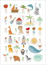 Poster / Leinwandbild ABC Deutsch - Englisch - Sandy Lohß