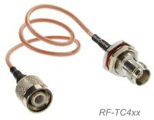 TNC Male to TNC Bulkhead Female 50Ω RG316 Coax Low Loss RF Cable