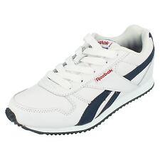 REEBOK' Royal CL Jogger' pour garçons blanc à lacets cuir / synthétique