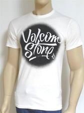Volcom Stone Study Tee Mens White T-Shirt New NWT