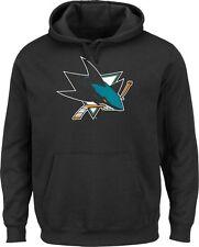 NHL San Jose Sharks kaputzenpullover HOODY HOODED SWEATER telepatch BLACK