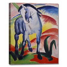 Franz Marc cavallo blu design quadro stampa tela dipinto telaio arredo casa