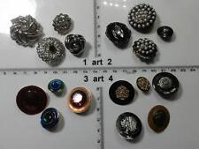1 lotto bottoni gioiello strass smalti perle murano buttons boutons vintage g7