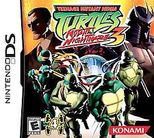 Teenage Mutant Ninja Turtles 3: Mutant Nightmare (Nintendo DS, 2005)