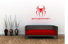 Spider Man Superhero Adult kids Home Wall Decal Sticker Film Marvel Room SU18