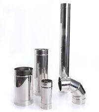 Edelstahl Ofenknie Bogen Rauchrohr Ofenrohr Abgasrohr Sanierung 10 Durchmesser