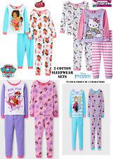 NWT Girls Frozen/Paw Patrol/Elena/Hello Kitty Sleepwear(Size 2T, 3T, 4T) $42.00