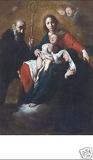 SANTINO HOLY CARD TELA CANVAS MADONNA CON BAMBINO n 3