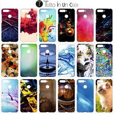 Custodia cover foderino RIGIDA per Huawei Honor 7a Design _467_484