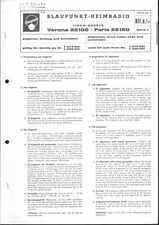Blaupunkt Service Manual für Verona/Paris 22100 / 22150