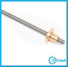 "1/2-10 Stainless Steel ACME Threaded Rod Lead Screw CUSTOM Length up to 72"""