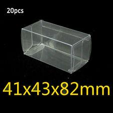 20/25/50 Piezas 1:64 Coche Juguete Plástico Protector Caja Expositor 41 43 82mm