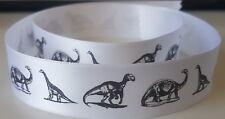 Dinosaur themed Satin Ribbon Gift Wrap Cake Birthday/Present Wrap