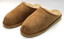 Hausschuhe Pantoffeln Puschen aus echtem Lammfell mit fester Sohle 37-46