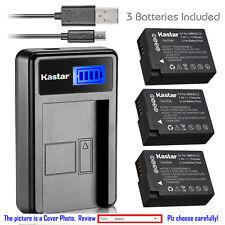 Kastar Battery LCD Charger for Panasonic DMW-BLC12 & Panasonic Lumix DMC-FZ300