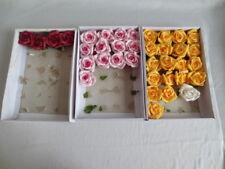 Rosenköpfe, Rosen, künstliche Blumen, basteln, dekorieren