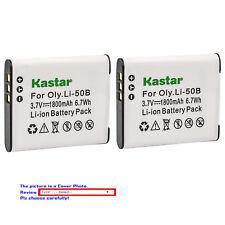 Kastar Replacement Battery for Olympus Li-50B LI-50C & Tough TG-835 TG-850 iHS