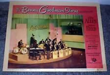 Gene Krupa/Buck Clayton/Teddy Wilson orig 1956 movie lobby Benny Goodman Story