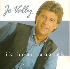 JO VALLY - ik hoor muziek CD SINGLE 2TR CARD 2001 RARE