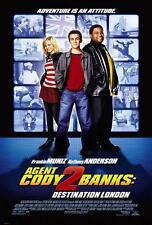 AGENT CODY BANKS 2 DESTINATION LONDON 27x40 D/S Original Movie Poster One Sheet