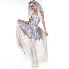 Nouveau débardeur femme sexy ghost bride halloween costume fancy party robe ladcos 22