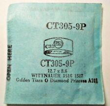 WITTNAUER GOLDEN TIARA DIAMOND PRINCESS Replacement Watch Crystal GS CT305-9P