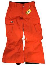 ANALOG asset blazing orange snow pants man pantaloni uomo neve arancioni