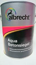 (16€/L)albrecht Aqua Betonsiegel Boden Beschichtung Wasserbasieren 750ml