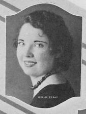 1933 Los Angeles Hamilton High School Yearbook~Photos~History~Baseball~Golf~++++