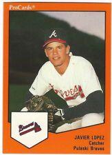 1989 1991 ProCards Pulaski Braves Minor League Baseball card - Pick your player