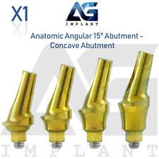 Anatomic Angular Concave Abutment 15° Titanium Dental Implant Internal Hex