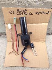 New 83 Honda CB550SC CB550 SC Ignition Switch Key Nighthawk