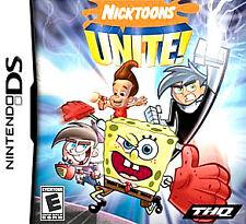 Nicktoons Unite (Nintendo DS) DS Lite Dsi xl 2ds 3ds XL spongebob squarepants