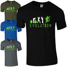 Evoluzione di Alien t-shirt-petto DISTRUGGIDOCUMENTI patto Fan SCI-FI Geek Uomo Regalo Top