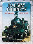 Railway Journeys: The Vanishing Age of Steam rare (5 disc) dvd Box Set TRAINS