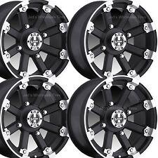 "4) 14"" Rims Wheels for 2009-2013 Polaris Sportsman XP 850 Type 393 MBML Aluminum"