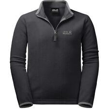 Jack Wolfskin Boys Gecko Half-Zip Fleece Sweater Jacket Top