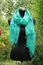 Schal Italian Design Stola Neu Trend Grün Blume Blumen
