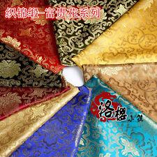 Chinese Han Silk Satin Brocade Cos Clothing Costume Dress Kimono Sewing Fabrics