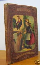 NURSERY COLORED PICTURE BOOK circa 1870, Rare