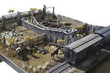 BANTA MODELWORKS DENVER & RIO GRANDE RAILROAD STOCK PEN HO Wood Kit BM138H